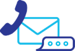 Automated email, voice, and text messaging